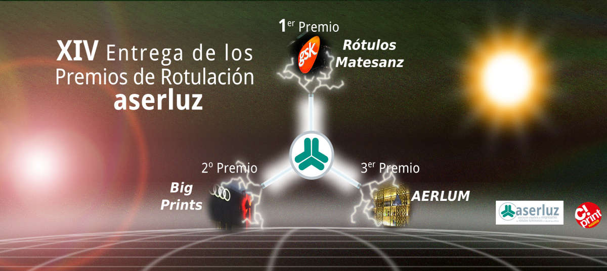 Premios de Rotulación ASERLUZ 2015